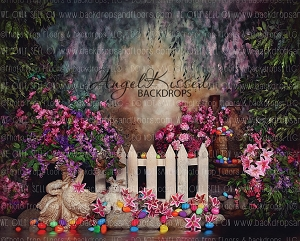 Easter Garden 2 - 8x10 (Horizontal Design)