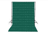 Emerald Solid Color Seamless Matte Finish Fabric Photography Backdrop