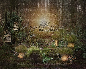 Fairyland in Ivory - 8x10 (Horizontal Design)