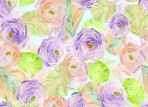 Floral 277 (Horizontal Design)