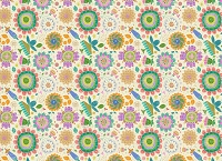 Floral 346 (Horizontal Design)