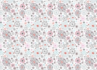 Floral 349 (Horizontal Design)