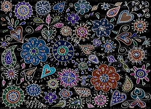 Floral 368 (Horizontal Design)