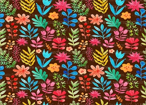 Floral 369 (Horizontal Design)