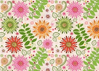 Floral 373 (Horizontal Design)