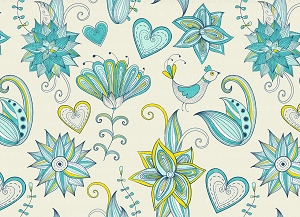 Floral 383 (Horizontal Design)