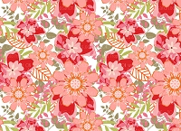 Floral 386 (Horizontal Design)