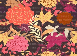 Floral 388 (Horizontal Design)