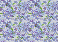Floral 389 (Horizontal Design)