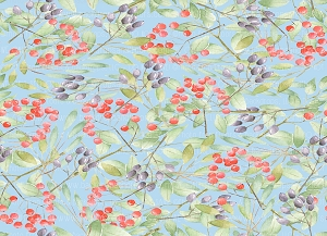Floral 392 (Horizontal Design)
