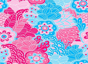 Floral 394 (Horizontal Design)