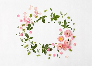 Floral Wreath 2 (Horizontal Design)