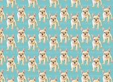 French Bulldog Print 1 (Horizontal Design)
