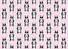 French Bulldog Print 4 (Horizontal Design)