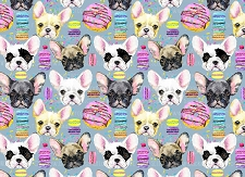 French Bulldog Print 5 (Horizontal Design)