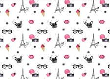French Bulldog Print 6 (Horizontal Design)