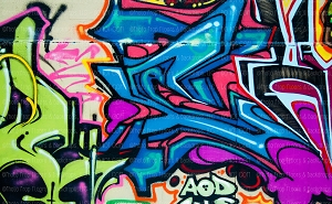 Graffiti 108 (Horizontal Design)