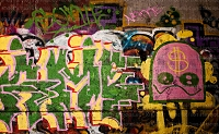 Graffiti 122 (Horizontal Design)