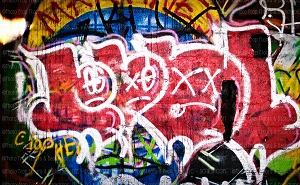 Graffiti 124 (Horizontal Design)