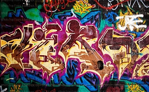Graffiti 126 (Horizontal Design)
