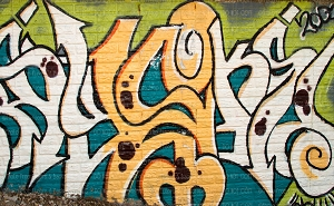Graffiti 132 (Horizontal Design)
