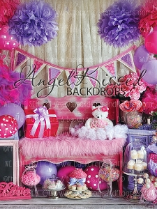 Happy Pink and Purple Day 2 - 60x80  (Vertical Design)