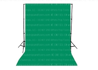 Holiday Green Solid Color Seamless Matte Finish Fabric Photography Backdrop