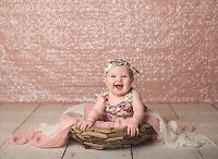 Pink Shimmery Sequin Fabric Photography Backdrop