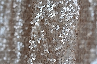 Champagne Shimmery Sequin Fabric Photography Backdrop