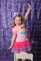 Purple Grape Shimmery Sequin Fabric Photography Backdrop