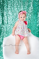Mint Green Shimmery Sequin Fabric Photography Backdrop