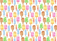 Ice Cream 3 (Horizontal Design)