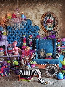 Mad Hatter at Home 2 - 60x80 (Vertical Design)