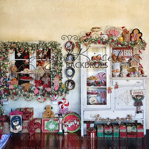 Mrs Claus Kitchen 1 - 8x8
