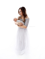(TP) New Mama Tulle Gown {PostPartum}