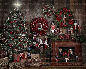 Nuttin Better Than Christmas 1 - 8x10 Polyester (Horizontal Design)