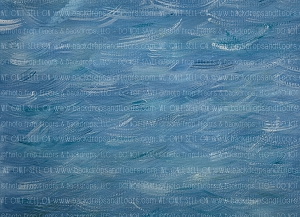 Painterly Painted Water 2 (Horizontal Design)