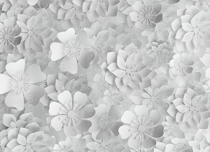 Paper Flowers 65 (Horizontal Design)