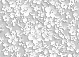 Paper Flowers 67 (Horizontal Design)