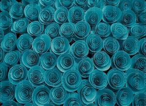 Paper Flowers 71 (Horizontal Design)