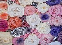 Paper Flowers 74 (Horizontal Design)