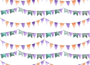 Party Time 40 (Horizontal Design)