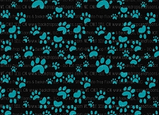 Paw Prints 10 (Horizontal Design)