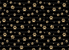Paw Prints 4 (Horizontal Design)