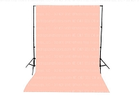 Peach Solid Color Seamless Matte Finish Fabric Photography Backdrop