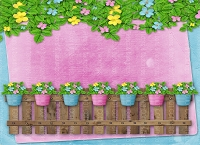 Picket Fence 2 (Horizontal Design)