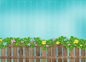 Picket Fence 5 (Horizontal Design)