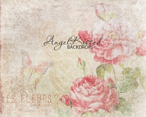 Pretty Flowers - 8x10 Polyester (Horizontal Design)