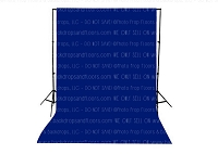 Royal Blue Solid Color Seamless Matte Finish Fabric Photography Backdrop