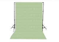 Sage Solid Color Seamless Matte Finish Fabric Photography Backdrop